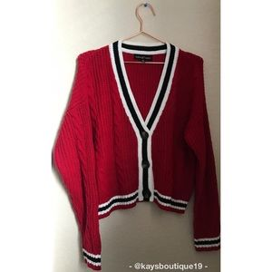 NWOT Almost Famous Cardigan Sweater Size M